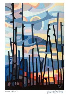"Daily Paintworks - ""Landscape Study #71"" - Original Fine Art for Sale - © Mandy Budan"