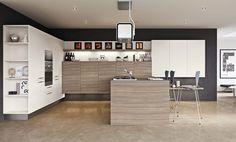 Elm modern kitchen by Record è Cucine #design #home #wood #kitchen