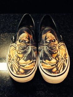 "Vans Skate Shoes ""Iron Maiden"""