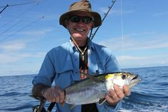 Nice tuna for Victor caught aboard GOOD DAY in Quepos, Costa Rica