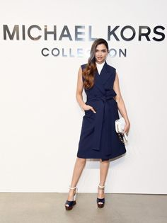 Deepika Padukone at Michael Kors Show New York Fashion Week 2017