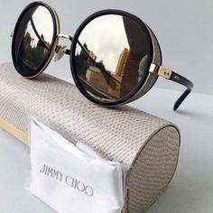 Men Sunglasses Fashion, Fashion Eye Glasses, Trending Sunglasses, Stylish Sunglasses, Retro Sunglasses, Sunglasses Women, Sunglasses Storage, Jimmy Choo Glasses, Glasses Frames Trendy