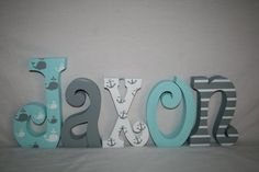Hey, I found this really awesome Etsy listing at https://www.etsy.com/listing/270636602/whale-themed-nursery-decor-nautical-wood