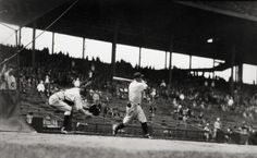 George Brace, Hack Wilson Batting, not dated, gelatin silver print