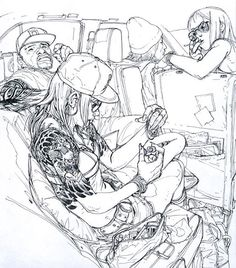 Art by Kim Jung Gi