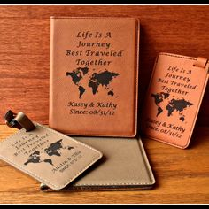 Santa Claus Game And Moose Leather Passport Wallet for Passport Holder for Safe Trip durable Easy to Carry