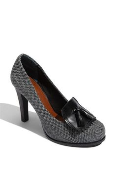 Like sophisticated look of the shoe - Halogen® 'Carlyle Tassel' Pump available at #Nordstrom