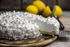 Torta gelato al limone meringata