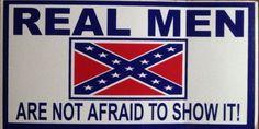 Confederate Flag Rebel Flag Bumper Sticker