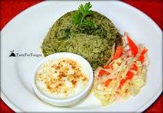 Palak Rice/Spinach rice