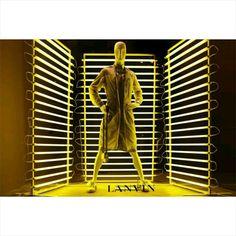 Lanvin window.