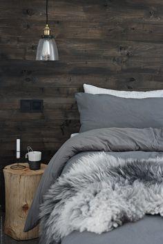 Nordic Bedroom, Home Decor Bedroom, Bedroom Ideas, Teen Bedroom Designs, Bedroom Styles, Cottage Interiors, Cottage Homes, Guest Bedrooms, Master Bedroom