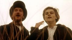 """Total Eclipse"" (1995) >> Leonardo DiCaprio & David Thewlis"