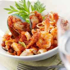 with penne in a spicy basil marinara recipe from for the love of ...