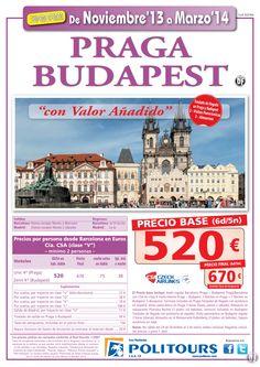 PRAGA-Budapest, salidas del 16/01 al 31/03/14 dsd Madrid y Barcelona(6d/5n)p.f 670€ valor añadido ultimo minuto - http://zocotours.com/praga-budapest-salidas-del-1601-al-310314-dsd-madrid-y-barcelona6d5np-f-670e-valor-anadido-ultimo-minuto/