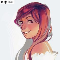 #wooolikes @sleiin  trying something different  i should practice painting more... #wooomic #comic #characterdesign #illustrationartists #illustration #portrait #colour #girl #woman #female #beauty #repost #regram #likes