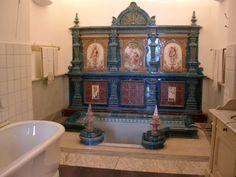 Villa Monastero a Varenna (Lecco) - La sala da bagno http://lefotodiluisella.blogspot.it/
