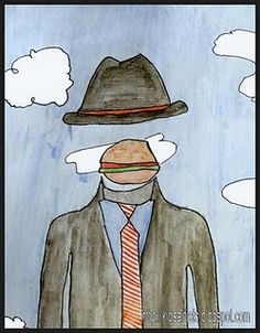 magritte project - I think I thought of doing this and then forgot.