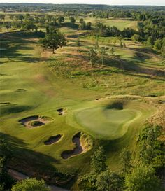 Erin Hills Golf Cub #golfcourses #golfclubs #beautifulgolf