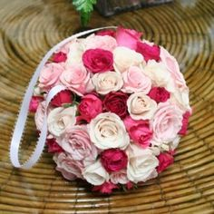 boule de fleurs bouquet mariée