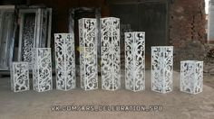 Стойки для выездной регистрации Wedding Columns, Wedding Reception Backdrop, Wedding Car Decorations, Mehndi Decor, Photo Corners, Cardboard Furniture, Wedding Preparation, Flower Arrangements, Backdrops