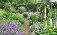 Arne Maynard Garden Design for a garden by the river Cherwell.