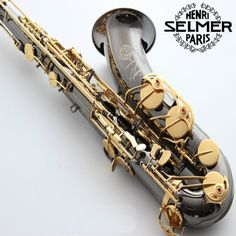 419.00$  Watch here - http://alig34.worldwells.pw/go.php?t=32659569422 - Free shipping new high quality tenor Saxophone France R54 B flat black gold nickel professional musical instruments