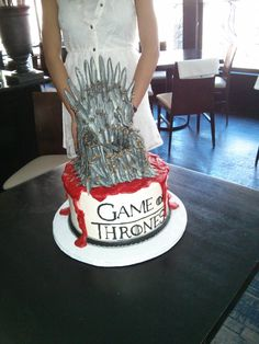 Most awesome cake ever...his gf made for his bday