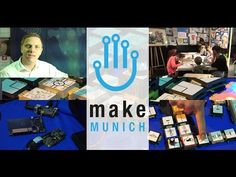Make munich 2014 was the fair for all makers, modelers and tinkerers. It is the fair for trends and innoations in technology and design, the meeting place fo. Meeting Place, Munich, Homemade, Projects, How To Make, Do Your Thing, Repurpose, Log Projects, Blue Prints