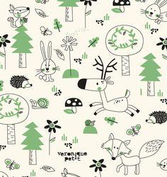 Ultra-book Veronique Petit Portfolio : Textile design for TAG
