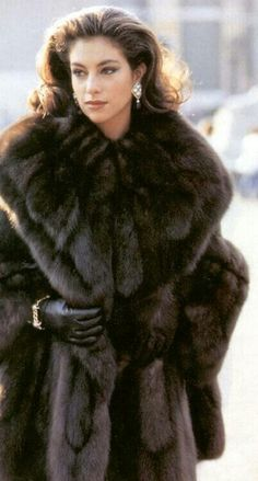 Supreme Sable — I'm not a huge fan of fur, but this is just beautiful.