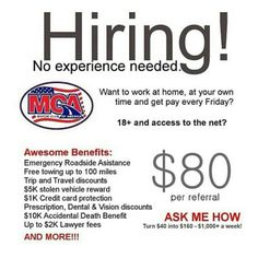 1000 images about mca ads on pinterest job career this Motor club of america careers