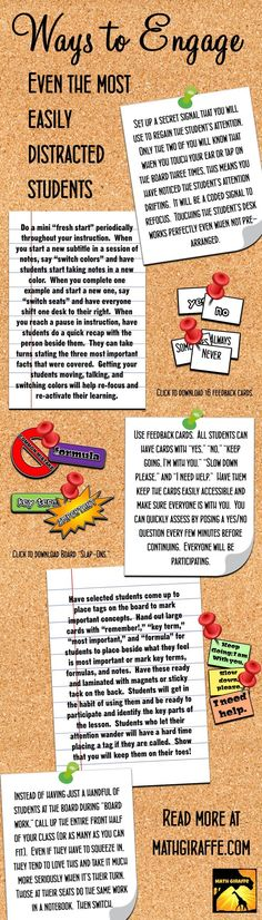 Keeping Your Students Engaged - How to regain the attention of your most easily distracted students