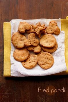 papdi recipe with step by step photos. learn how to make fried papdi and baked papdi at home. papdis are deep fried and crisp flour small pooris laced with either carom or cumin seeds or both.