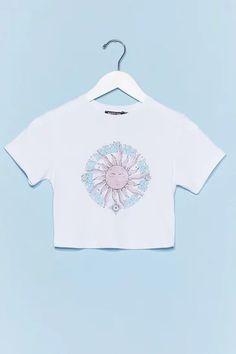 Women's T-Shirts   Oversized & V Neck T-Shirts   Nasty Gal Women Wear, Ladies Wear, Cute Tshirts, Crop Tee, Nasty Gal, V Neck T Shirt, Graphic Tees, T Shirts For Women, Aquarius