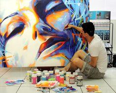 Pintura Acrílica sobre tela - Fabiano Millani