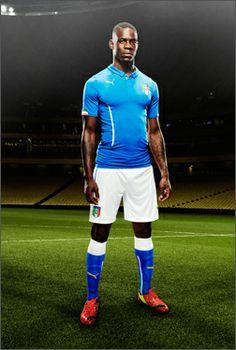 PUMA Launch Italian World Cup 2014 Strips