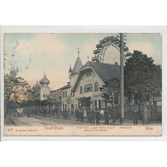 Kegel, Vienna Austria, Hungary, Rest, History, City, Gold, Painting, Vintage
