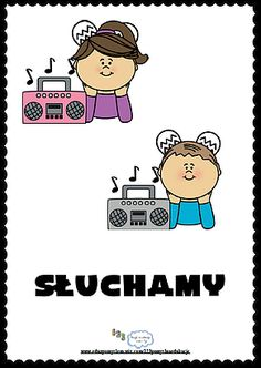 Zasady klasowe- Słuchamy Dot Day, Music Education, Clip Art, How To Plan, Cards, New School Year, School, Deutsch, Music Ed