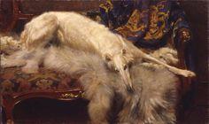 William Frank Calderon (1865-1943) A Lady of Quality, 1913.