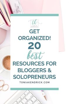 My ultimate list of blogging tools and resources for new bloggers and solo entrepreneurs! #bloggingforbeginners #bloggingtools #bloggingresources Small Business Organization, Finance Organization, List Of Resources, Secret Boards, Brand Fonts, Blogging For Beginners, News Blog, Getting Organized, Tools