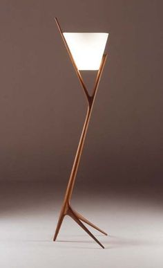 Lamp made by Noriyuki Ebina, Japanese furniture designer.