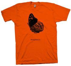 Argynnis T-Shirt, Nerd Science Geek Tee Entomology Butterfly Biology - T-Shirts March For Science, Science Geek, Cotton Tee, Biology, Nerd, Geek Stuff, Butterfly, Unisex, Store
