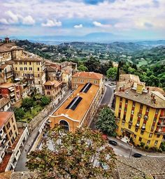 Perugia, in the region of Umbria - Italy
