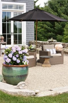 the summer terrace