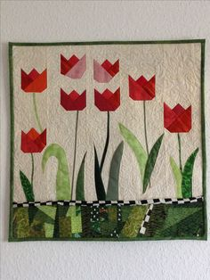 Tulpen-Quilt