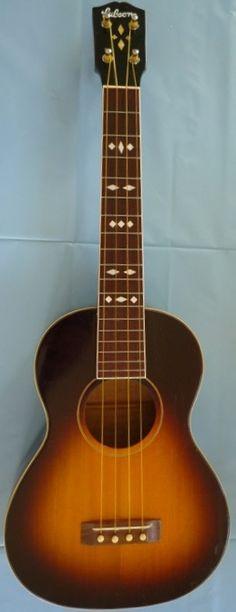 lardyfatboy: 1930s Gibson TU3 Sunburst Tenor =Lardys Ukulele of the day - a year ago --- https://www.pinterest.com/lardyfatboy/