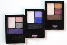 Review & Swatches: Maybelline Expert Wear Eyeshadow Quads - The Daily Bailey B