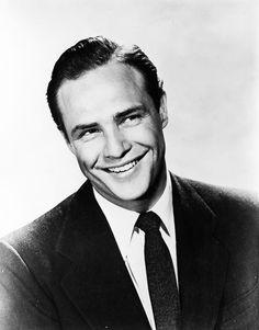 Marlon Brando, ca. 1955.