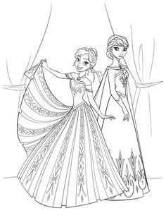 Coloriages kirikou az coloriage coloriage princesse - Coloriage princesse des neiges ...